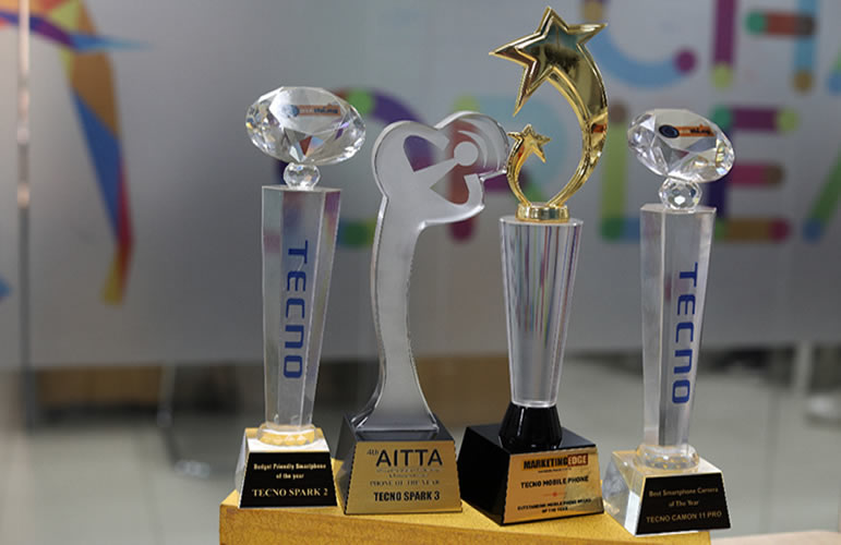 TECNO Wins Africa Information Technology & Telecoms Awards (AITTA)Phone of the Year 2019