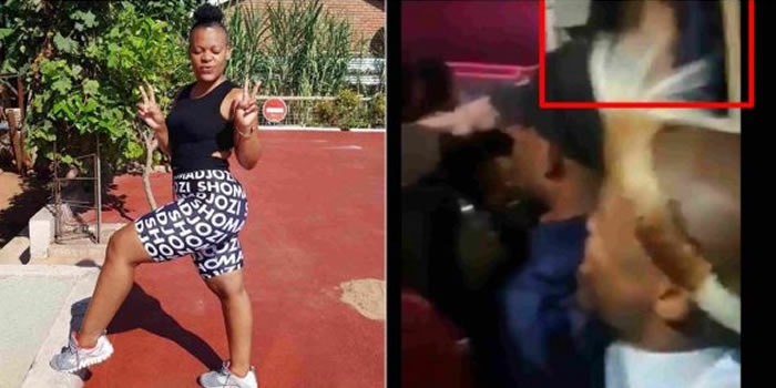 South African Dancer Zodwa Allows Fans To Finger Her On Stage (Video)