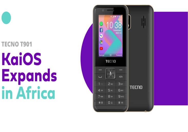 TECNO Introduces 1st smart feature phone