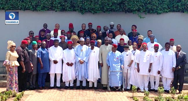 South-East Leaders Meet With Buhari,