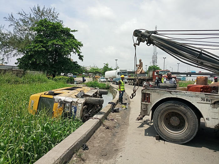 29 passengers rescued from Lagos canal accident