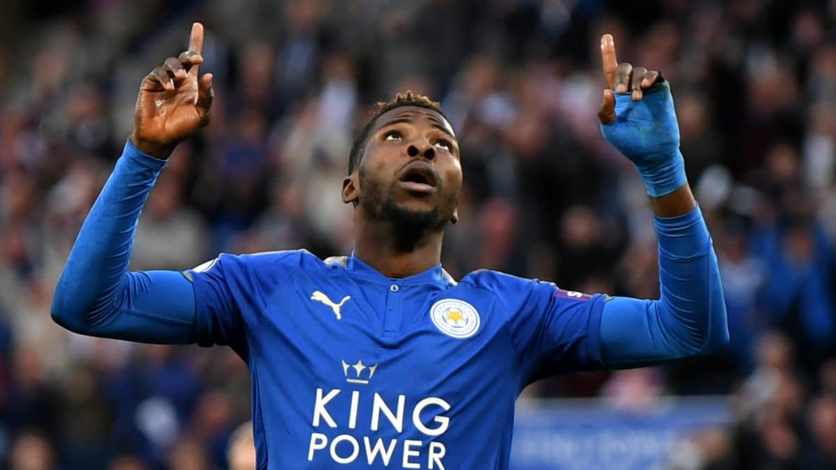 EPL: Kelechi Iheanacho speaks about Vardy after scoring in 2-1 win over Everton