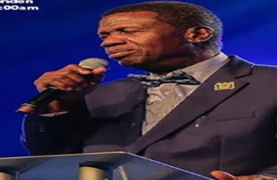 Pastor Adeboye Reacts To Lockdown Extension For Religious Centres In Lagos State