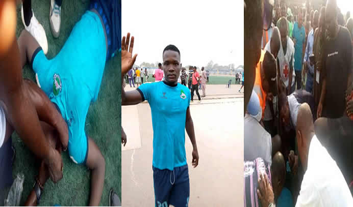 Nigerian Footballer Martins Is Dead