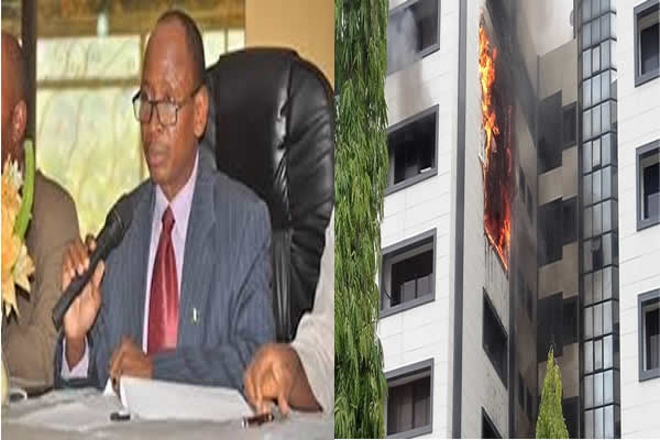 Fire In Accountant General unit's office