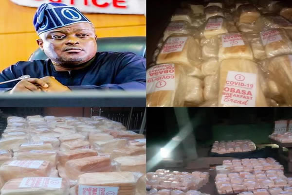 Obasa Increases Food Support Programme