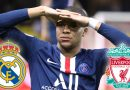 Liverpool and Real Madrid in regular contact with Kylian Mbappe