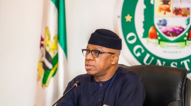 End SARS: Gov Abiodun reacts to attack on Ogun police station