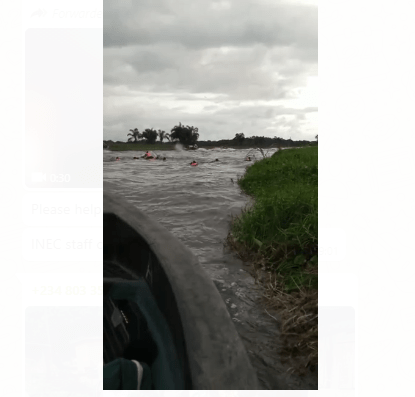 #OndoDecide2020: INEC confirms rescue of staff whose boat capsized