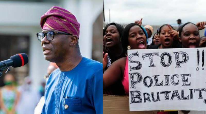Sanwo-Olu Visits Widow Of Man Killed In Surulere #EndSARS Protest