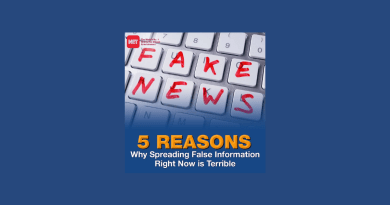 Five Reasons Why Spreading False Information Right Now is Terrible