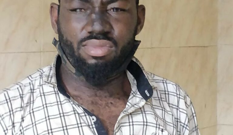 Nigerian Student Arrested In India for Stealing (Photo)