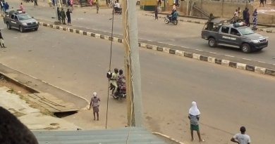 Hoodlums hack security guard to death in Ibadan (Graphic Photo)