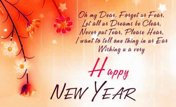 new year status and wishes
