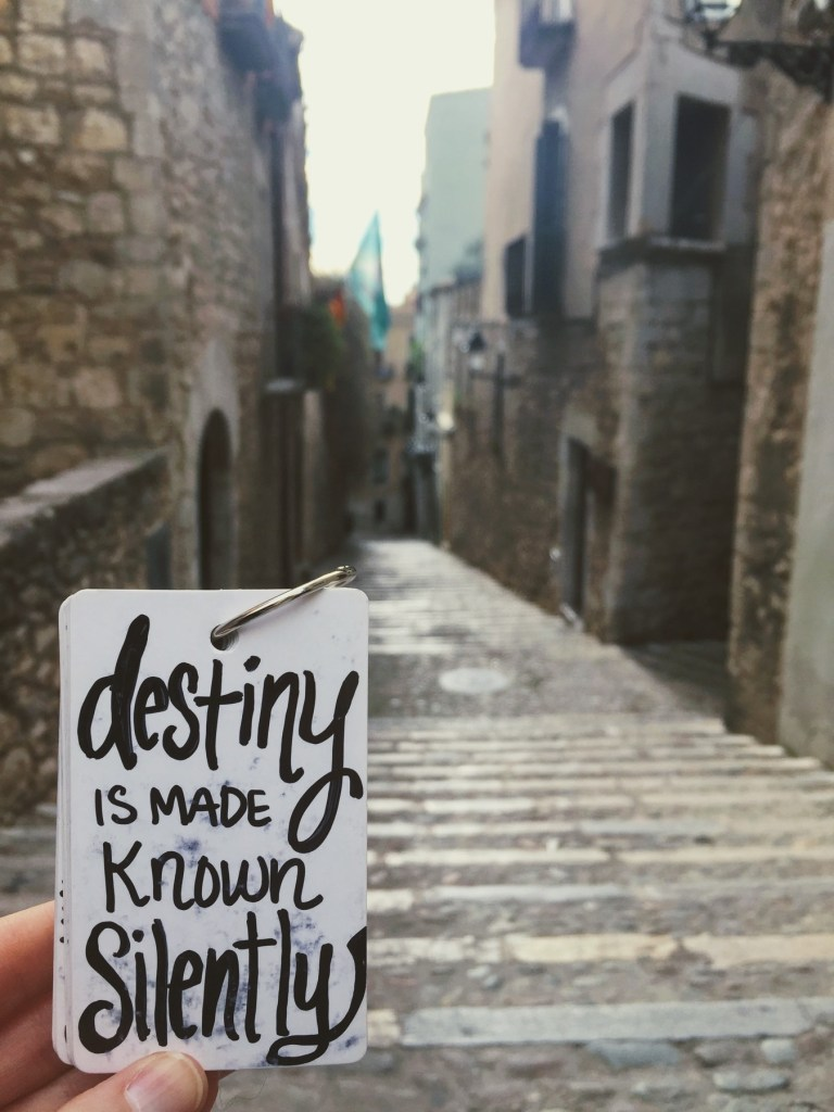 Destiny is Made Known Silently
