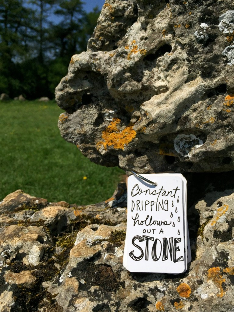 Hollow Out a Stone