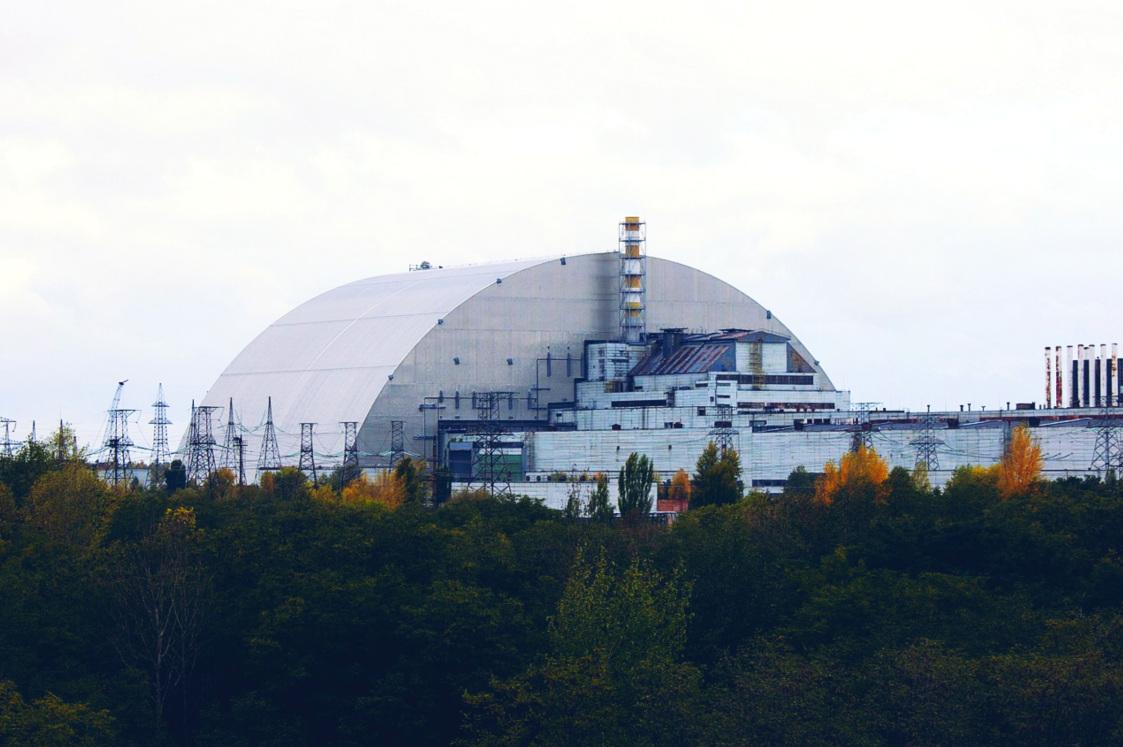Image de la catastrophe de Tchernobyl.