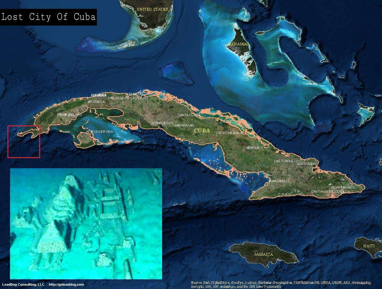 The Underwater City Of Cuba