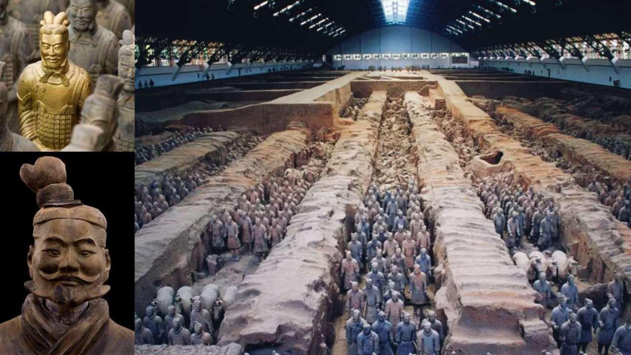 Tomb of Terracotta Warriors, China