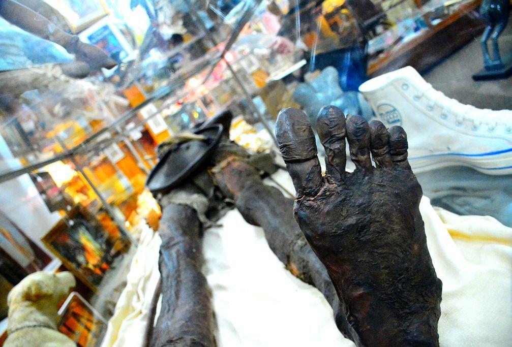 Kap Dwa: A múmia misteriosa de um gigante de duas cabeças 9