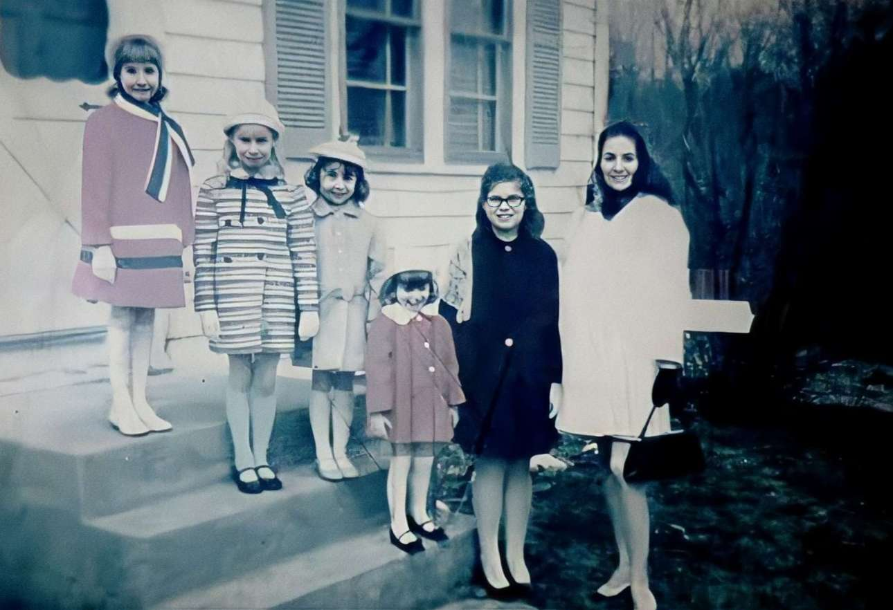 Mrs. Perron and their five daughters