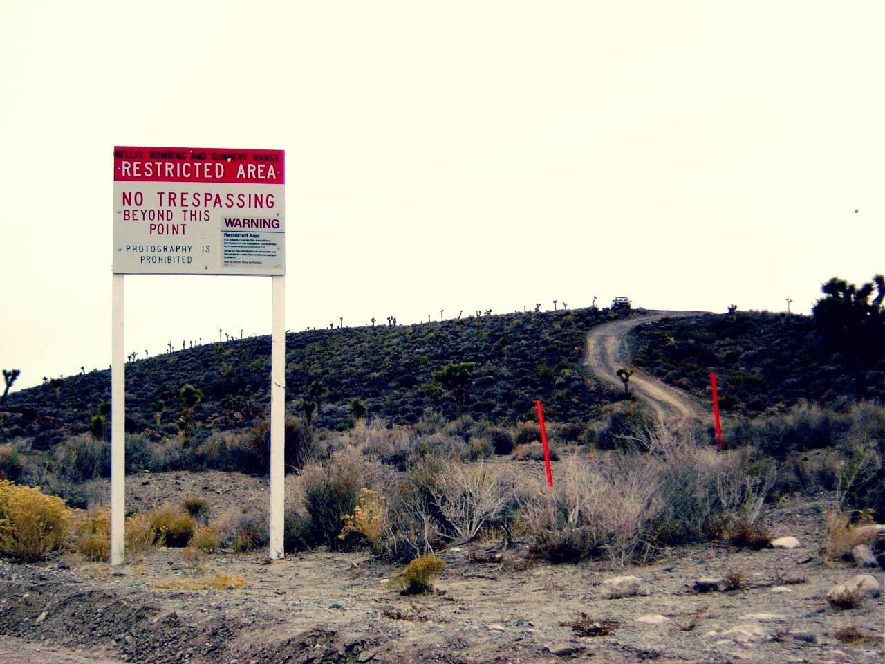 Area 51 base Nevada