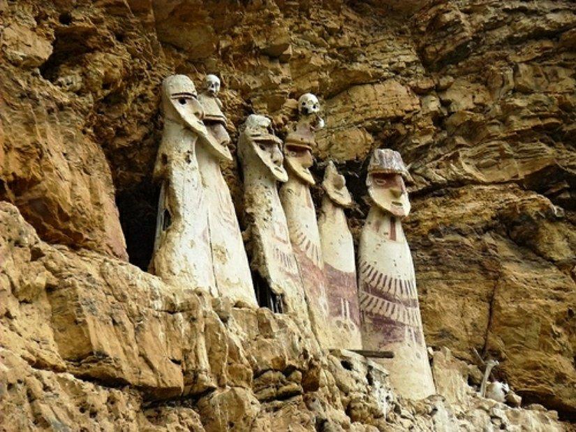 Có phải 'Những chiến binh trên mây Chachapoya' của người Peru cổ đại là hậu duệ của người châu Âu? 5