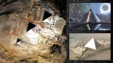 Une machine avancée d'origine inconnue mentionnée dans le texte de 440 avant JC peut avoir aidé à construire les pyramides 6