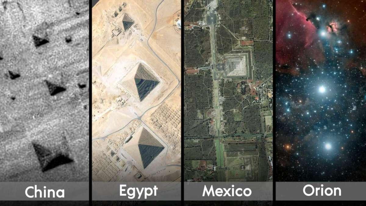 Τα μνημεία που απλώνονται σε ολόκληρο τον πλανήτη Γη, έχουν μια απίστευτη, ακριβή ευθυγράμμιση με τα τρία αστέρια του Orions. Alnitak, Alnilam και Mintaka