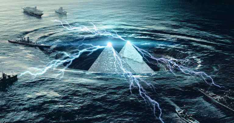 Novoodkrite piramide in napredna tehnologija, skrita v Bermudskem trikotniku 17