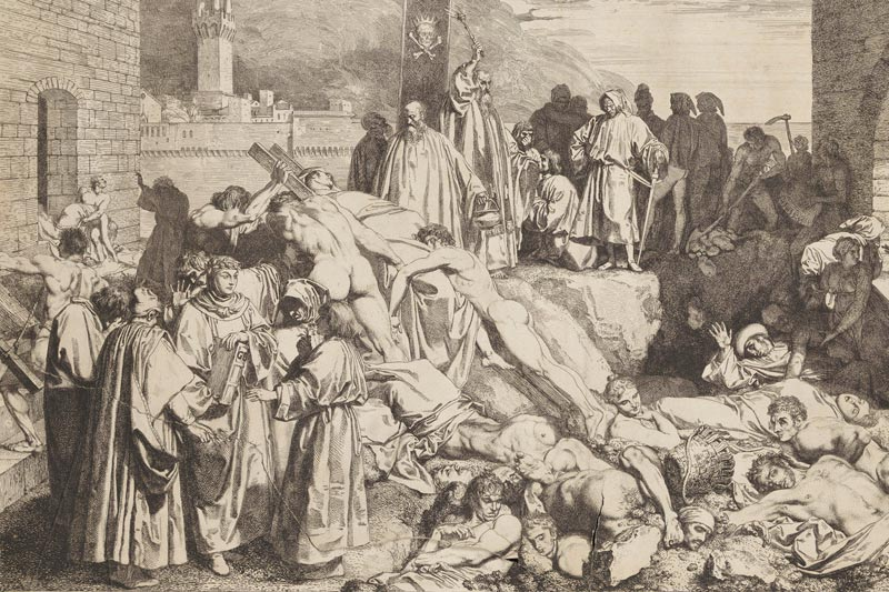 People Were Forbade To Wash Themselves After The Black Death
