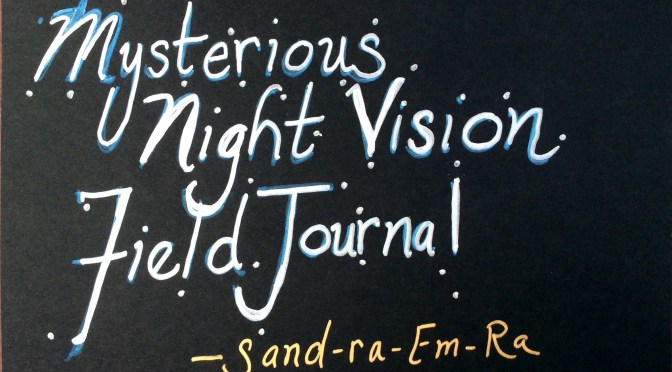 How to Get Started With Your Mysterious Night Vision Journal