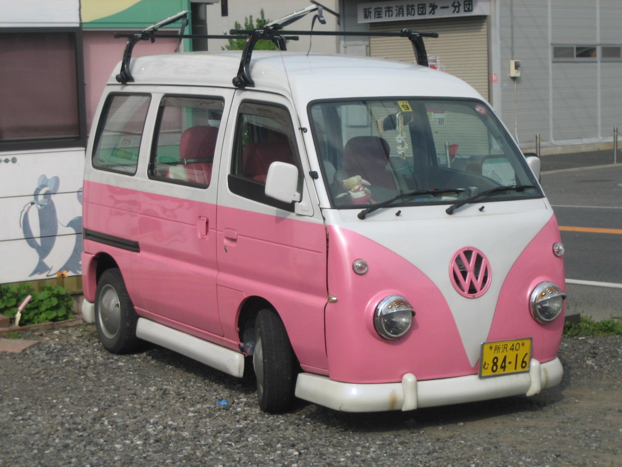 almost a vw van (but really a subaru, i think)