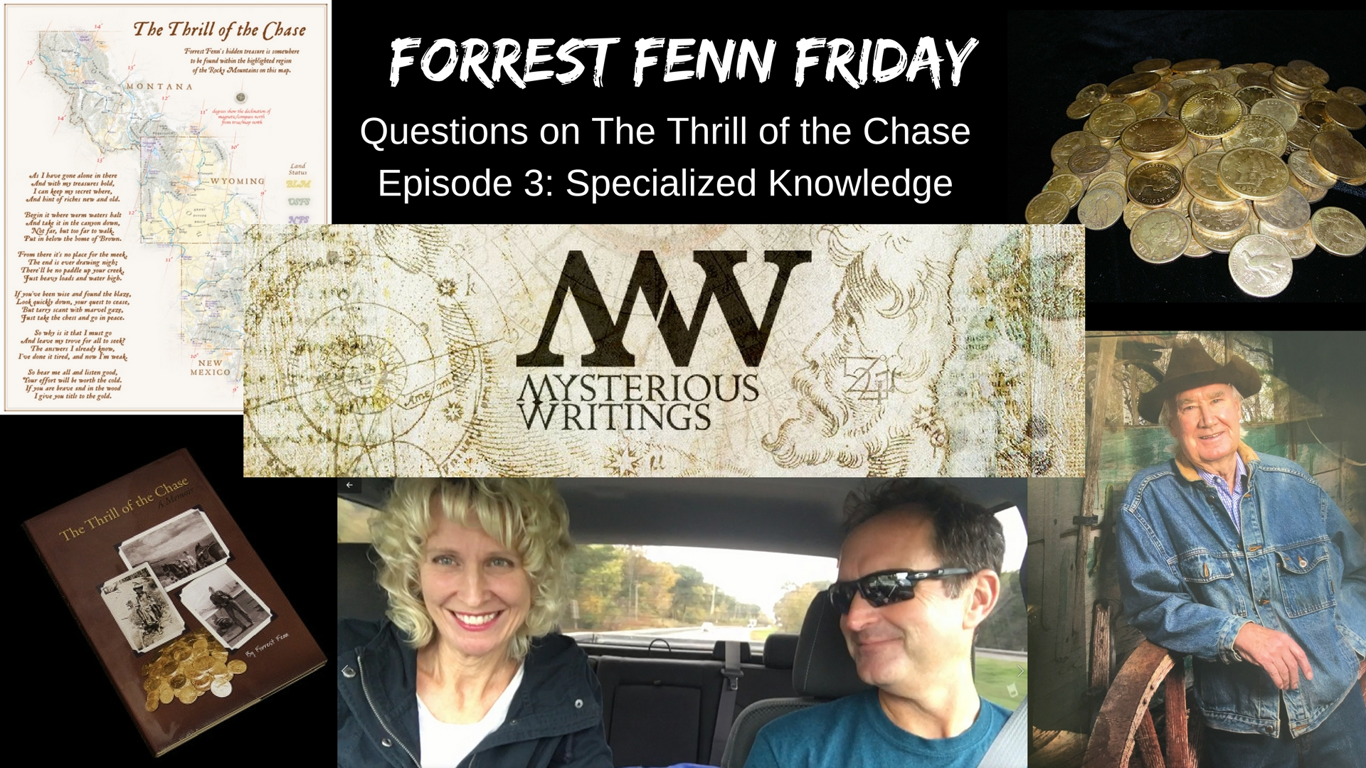 Forrest Fenn Friday Questions On The Thrill Of The Chase
