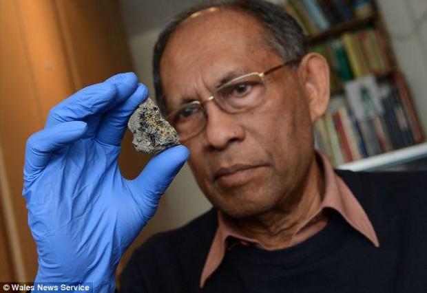 Prof. Chandra Wickramasinghe. Foto de archivo.