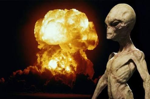 Resultado de imagen de extraterrestres evitaron guerra nuclear