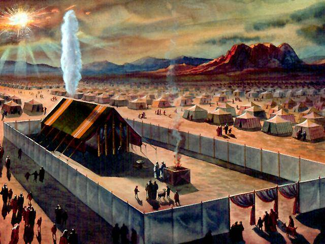 Yahvé era una nube voladora que de noche alumbraba el camino de los huidos de Egipto