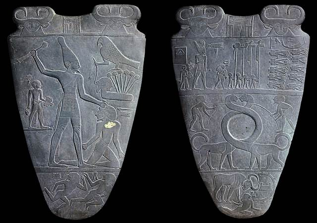 Paleta de Narmer.