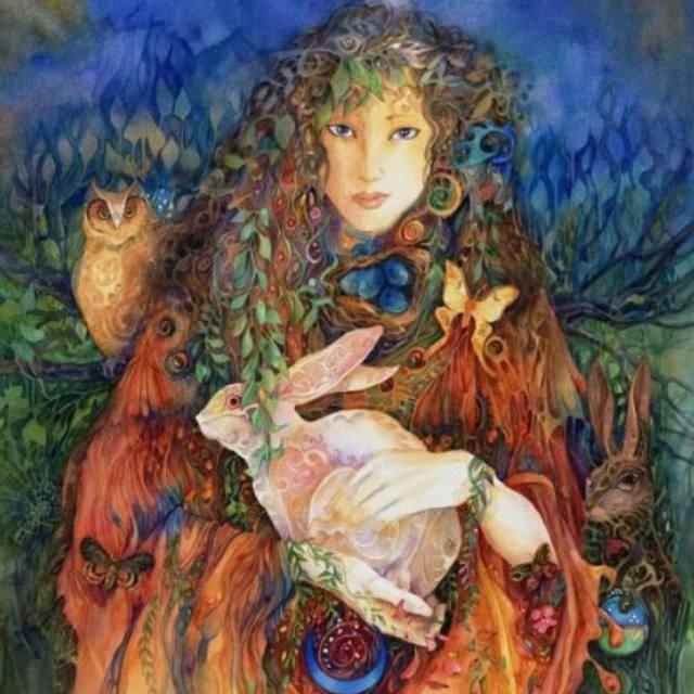 Ostara (en antiguo inglés, Eostre) es el nombre de una antigua divinidad germánica de la primavera.