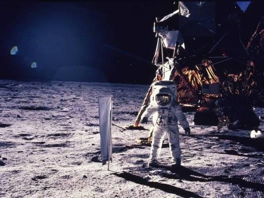 «No fuimos allí»: se viralizan las palabras de Buzz Aldrin sobre el viaje a la Luna