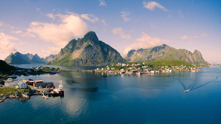 Oscar was fishing on the coast of Adonya Island, Norway. (Nordic Visitor)