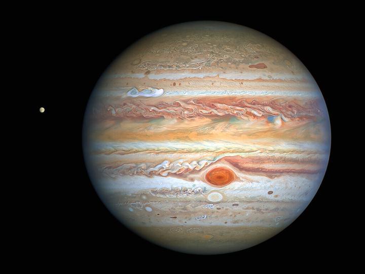 Júpiter y Europa.