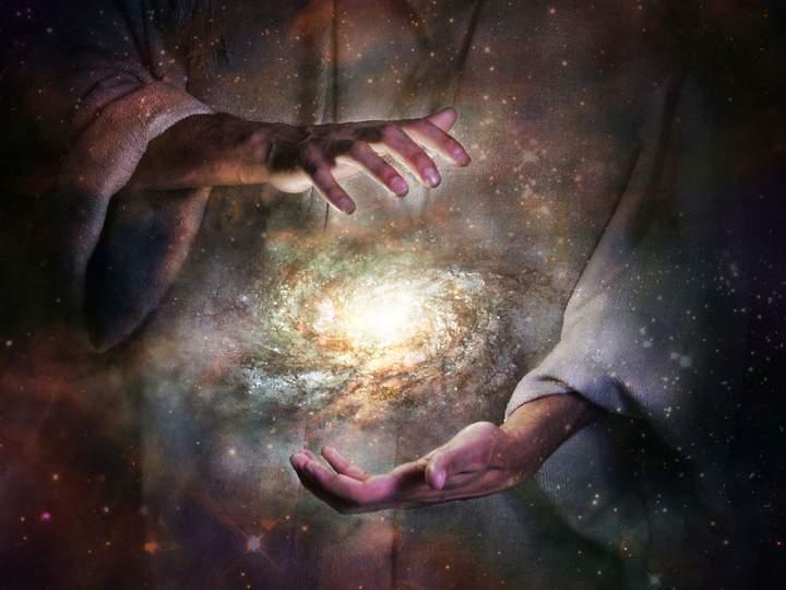 Dios creador. Universo.
