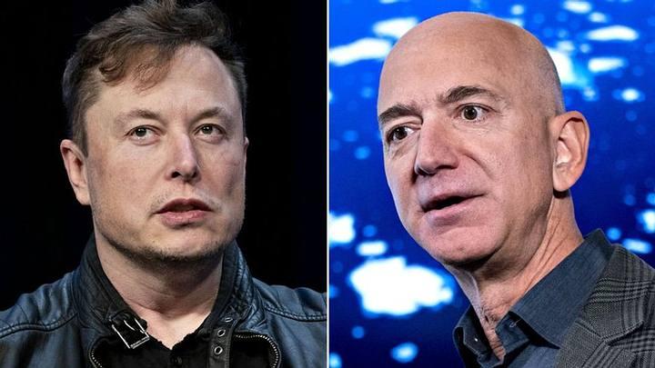 Elon Musk vs Jeff Bezos.