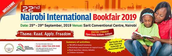 The 22nd Nairobi International Book Fair