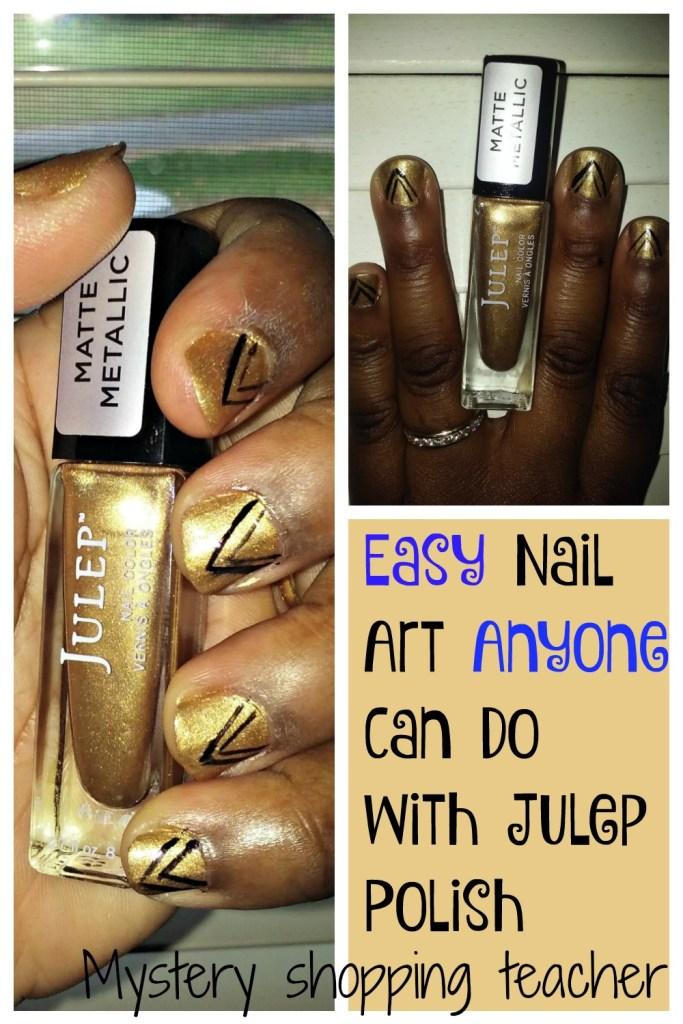 easy julep nail art
