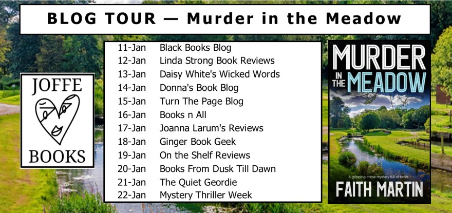 Blog Tour BANNER - Murder in the Meadow