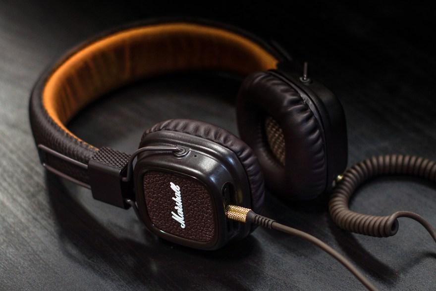 Headphones brown nice