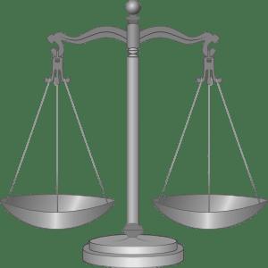 Justice image cartoon