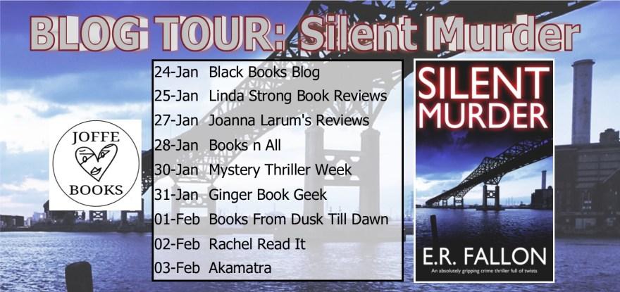 Silent Murder Blog Tour banner
